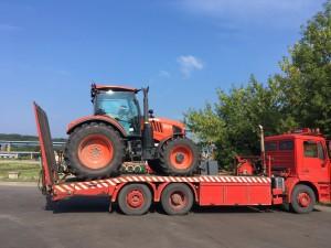 Traktorių pervežimas